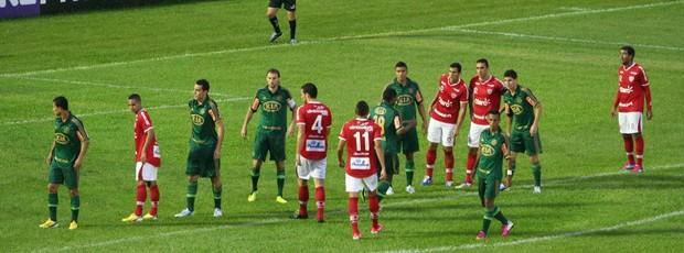Mogi Mirim e Palmeiras duelam pelo Campeonato Paulista (Foto: Rafael Bertanha / Divulgação Mogi Mirim)