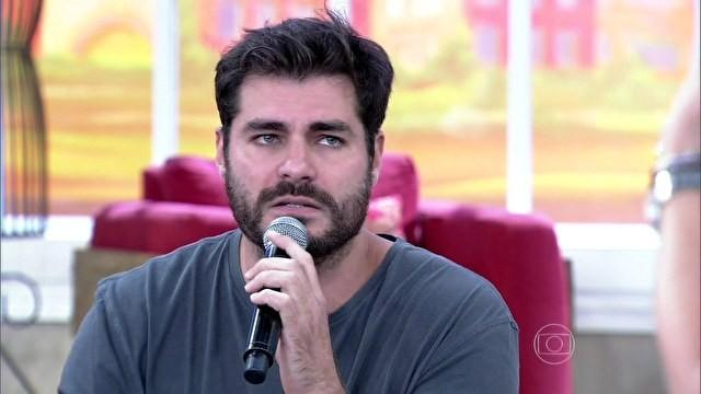 Thiago Lacerda (Foto: Encontro com Fátima Bernardes/TV Globo)