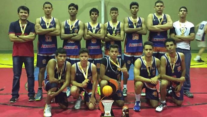 Boa Vista Basketball conquista 1ª Copa Norte de seleções sub-17 (Foto: Divulgação/Facebook)