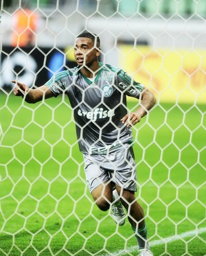 Gabriel Jesus Palmeiras x Joinville (Foto: Marcos Ribolli)