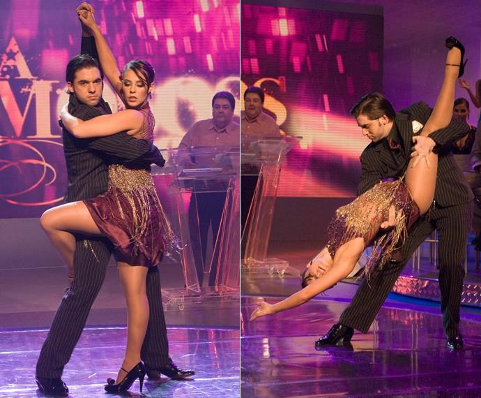 Paolla Oliveira foi sucesso total no 'Dança 2009' (Foto: TV Globo)