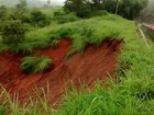 Deslizamento de terra interdita trecho da rodovia Marechal Rondon