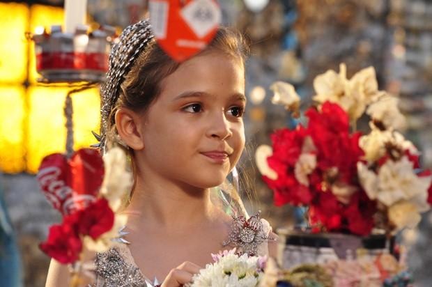 Mel Maia em Avenida Brasil (2012) (Foto: Estevam Avellar/TV Globo)