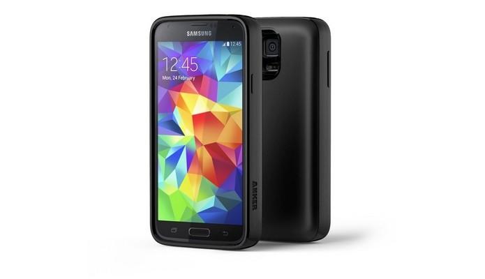 Capa com bateria para Galaxy S5 Anker (Foto: Reprodução/ Amazon)