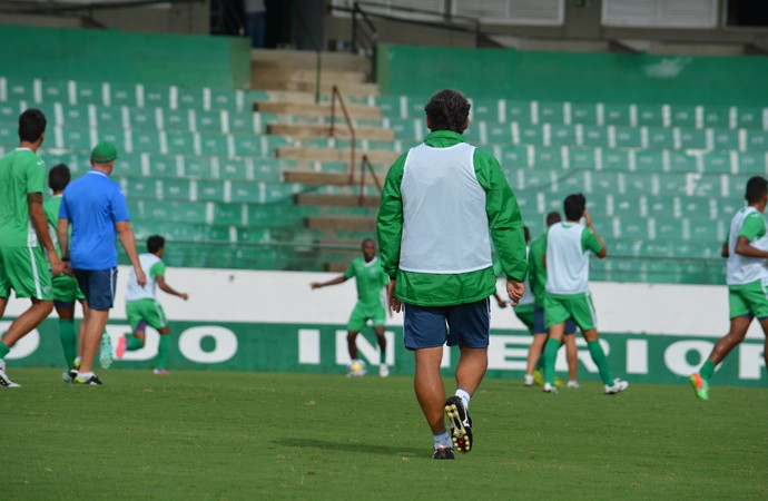 Marcelo Veiga técnico Guarani (Foto: Murilo Borges)
