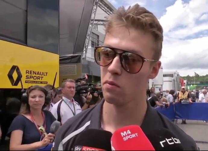 Daniil Kvyat GP da Alemanha STR F1 (Foto: Reprodução)