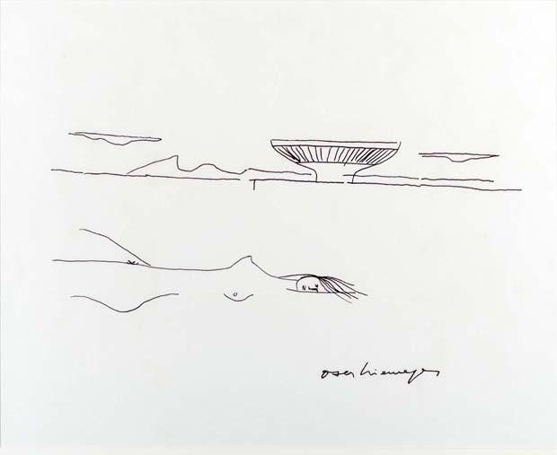 Oscar Niemeyer exposição (Foto: Divulgação)