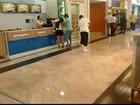 Após vazamento de água, shopping suspende funcionamento em Belém