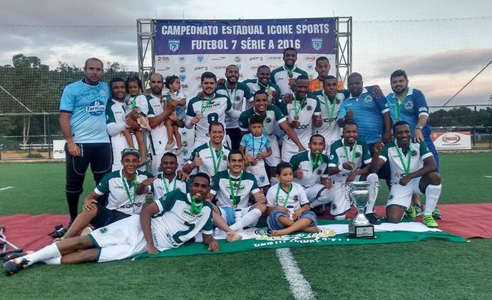 O time do Santo André foi o campeão capixaba de futebol 7 em 2016 (Foto: Divulgação/Arquivo Pessoal)