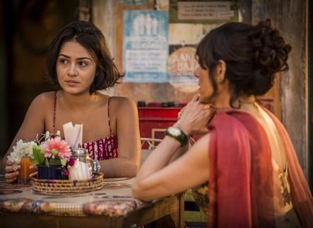 Olívia fica em choque com revelação de romance com Miguel