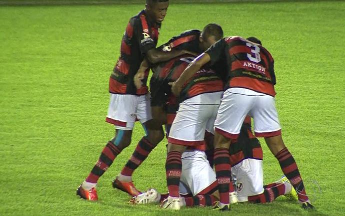 Águia Negra vence Novoperário nas quartas de final (Foto: Reprodução/TV Morena)