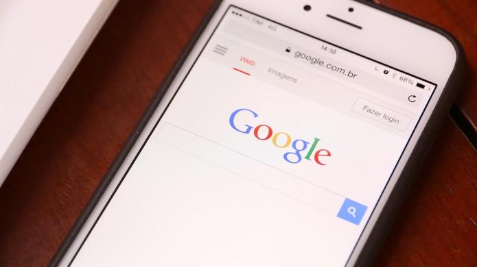 google-buscador-no-celular (Foto: Lucas Mendes/TechTudo)