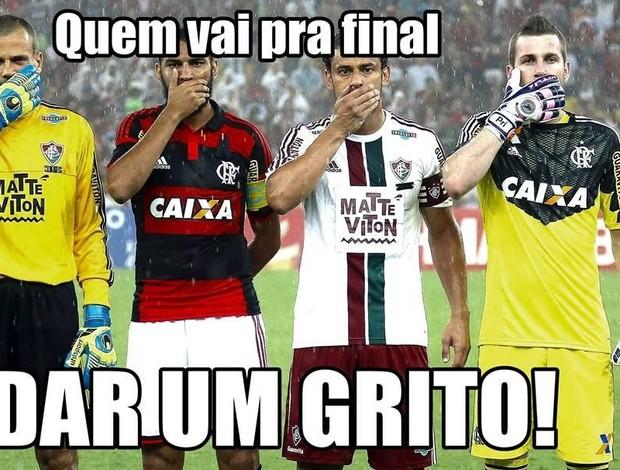 Zoacção Fla e Vasco