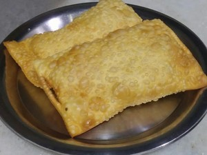 Tradicional pastel do Bar do Voga, em Campinas (SP) (Foto: Divulgação/ Bar do Voga)