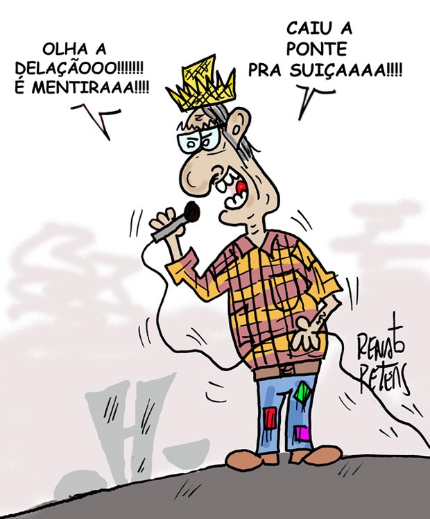 Charge: quadrilha (Foto: Renato Peters)