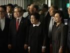Ex-primeira-dama da Coreia do Sul chega ao Norte para diminuir tensões