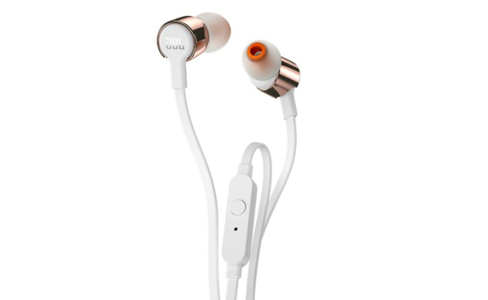 Fone T210 é opção intra-auricular para escutar as músicas preferidas  (Foto: Divulgação/JBL)