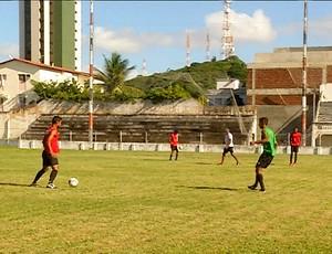 Estádio Juvenal Lamartine, em Natal (Foto: Reprodução/Inter TV Cabugi)