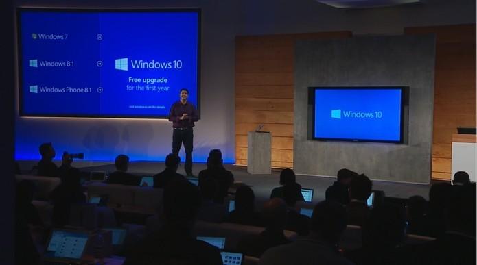 Windows 10 chegará gratuitamente por um ano para Windows 7, 8, 8.1 e Windows Phone (Foto: Reprodução/Microsoft)