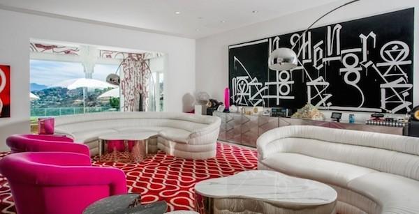 A antiga casa de Gwen Stefani e Gavin Rossdale (Foto: Reprodução)