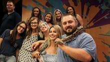 O Estúdio C deste sábado (13) foi só amor pelos animais! Confira (Bruno Vaz/RPC)