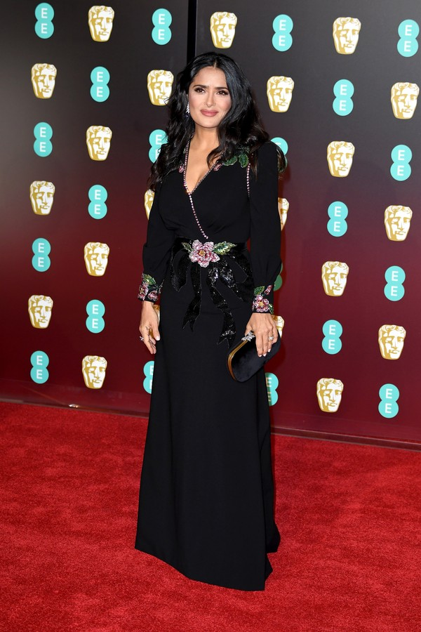 Salma Hayek no BAFTA (Foto: Getty Images)