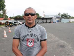 Sargentos Willame, oordenador do projeto Pelotão Mirim (Foto: Ellyo Teixeira/G1)