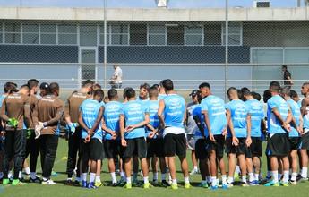 Papo, coletivo com a base e família: como Grêmio vai se reerguer para final