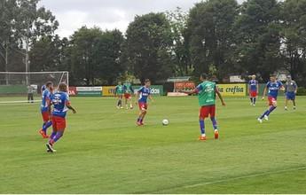 No CT do Palmeiras, Bahia treina e fecha preparação para pegar o Oeste