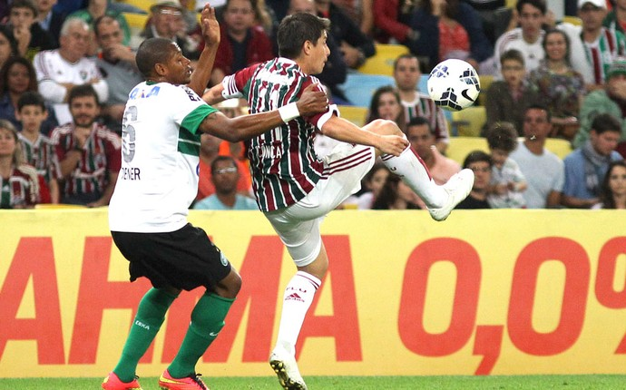 conca, Fluminense e Coritiba (Foto: Nelson Perez / Fluminense FC)