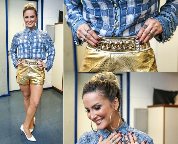 Claudia Leitte - Look (Foto: Isabella Pinheiro/Gshow)