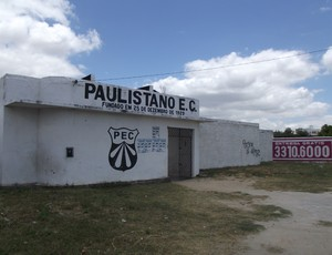 campo do paulistano, onde hulk jogava (Foto: Silas Batista / Globoesporte.com/pb)