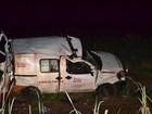 Duas pessoas morrem em acidente com ambulância de Abreulândia