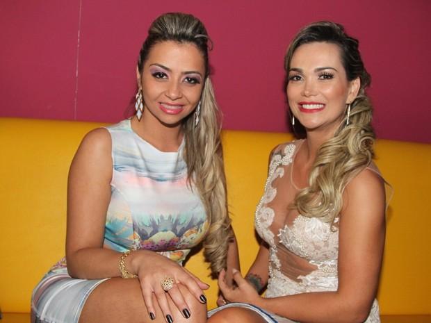 Christiane Guimma e Eliana Amaral (Foto: Thiago Duran/Agnews)