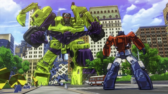 O gigantesco inimigo Devastator já foi confirmado nas primeiras imagens do jogo (Foto: Reprodução/Gematsu)