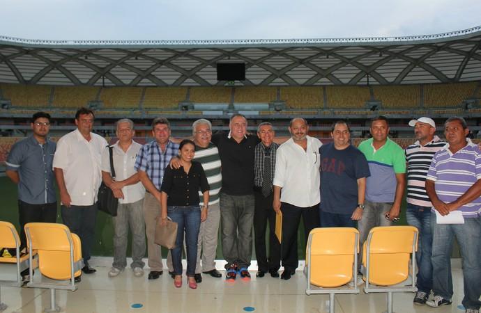 Associação dos Clubes Profissionais do Amazonas (Foto: Isabella Pina)