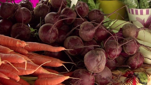 Produtos orgânicos livres de agrotóxicos (Foto: Reprodução/TV Tribuna)