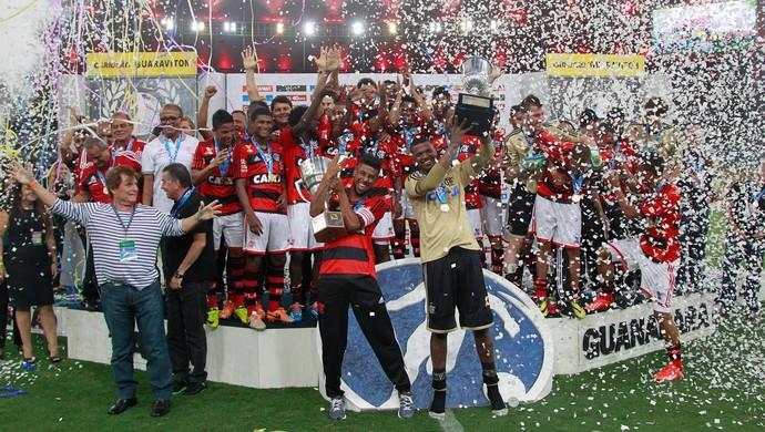 flamengo taça guanabara campeão (Foto: Marcio Alves/Agência Globo)