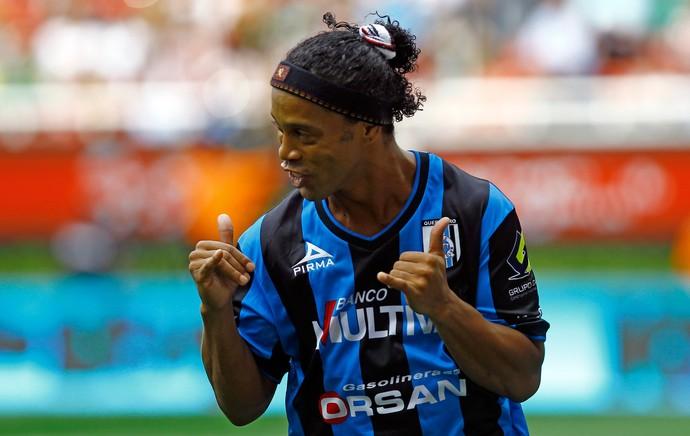 Ronaldinho Gaúcho Queretaro (Foto: AFP)