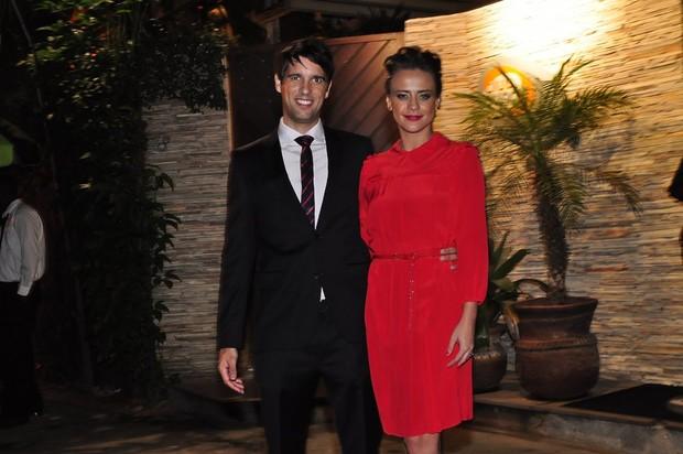 Juliana Silveira e o marido, João (Foto: Roberto Teixeira/EGO)