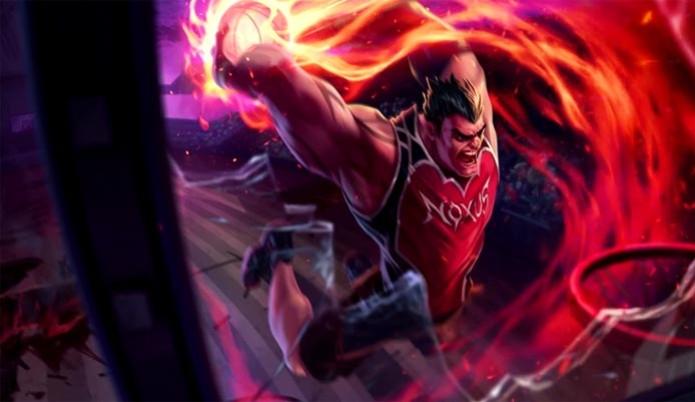 Darius ganha skin inédita em League of Legends (Foto: Divulgação) (Foto: Darius ganha skin inédita em League of Legends (Foto: Divulgação))