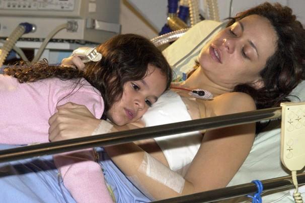 Mas quem não lembra da atriz Bruna Marquezine em um dos seus primeiros papéis em telenovelas da Globo, quando tinha apenas 8 anos?  (Foto: Globo)