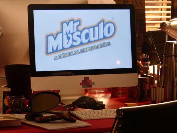 Campanha de Mr. Músculo foi um sucesso (Foto: Sangue Bom/TV Globo)