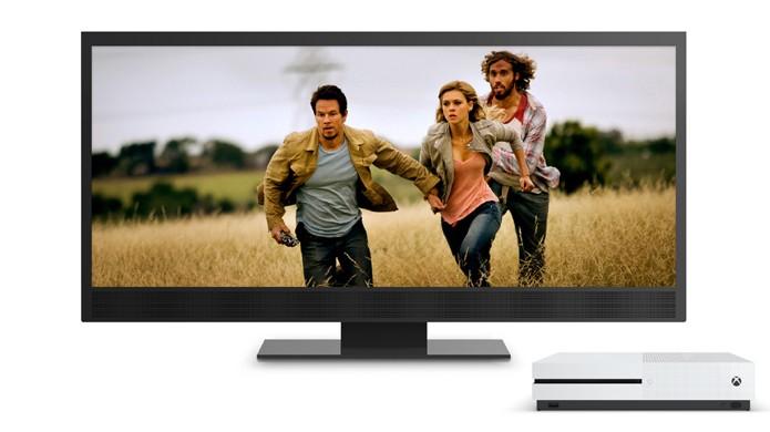 O Xbox One S não será capaz de reproduzir jogos em 4K mas poderá exibir filmes nessa resolução (Foto: Reprodução/Microsoft)