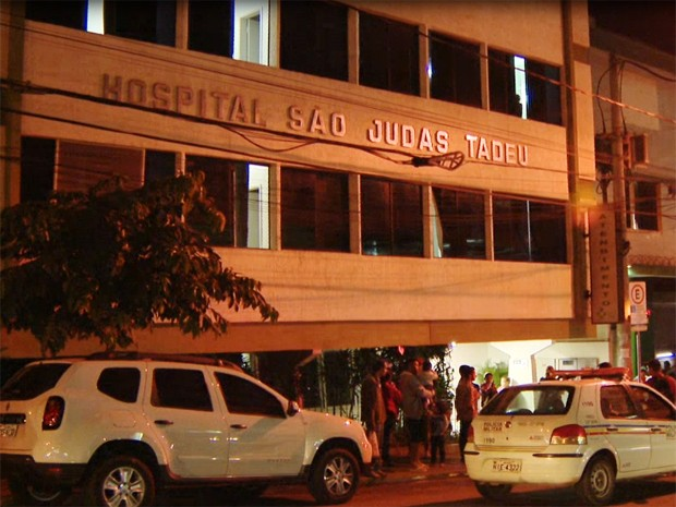 Hospital São Judas Tadeu em Divinópolis (Foto: Reprodução/TV Integração)