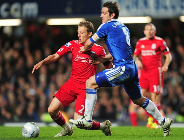 Lucas Liverpool Lampard Chelsea (Foto: Getty Images)