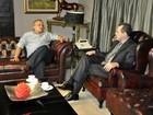 Taques e Silval fazem 1ª reunião de transição para o governo de MT