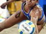 """Com direito à """"catimba"""", argentinas batem Lili/Carol e dão volta olímpica"""