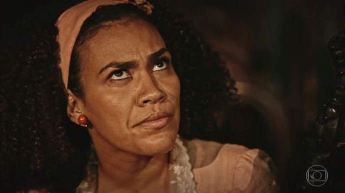 Dalva sai em defesa de Ciço (Foto: TV Globo)