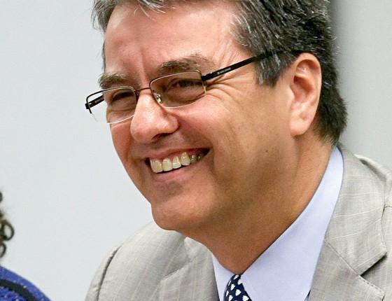 Roberto Azevêdo, diretor-geral da Organização Mundial do Comércio (OMC) (Foto: Pedro Ladeira / Folhapress)